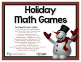 Math Games Bundle (Holiday, Christmas) 1.OA.C.6, 1.OA.B4, 2.OA.B.2, 1.NBT.3,