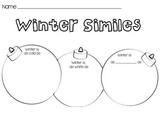 Christmas Ornament Simile Worksheet