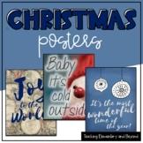 Holiday Christmas Posters