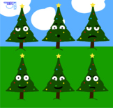 Holiday Christmas Tree Clipart! FREE DOWNLOAD!