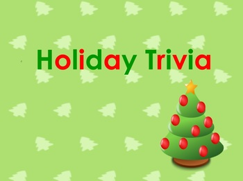Christmas Holiday Trivia - 100 Questions - PowerPoint Version