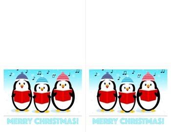 Holiday Christmas Winter Break Cards