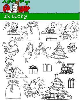 Holiday / Christmas / Winter Clip art / Graphics