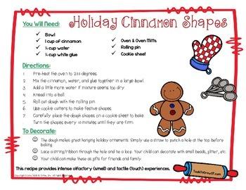 Holiday Cinnamon Shapes Recipe