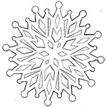 Holiday Clip Art - Christmas New Years Reindeer Snow Snowflake