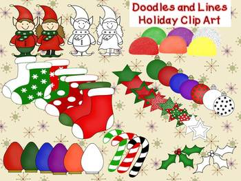 Holiday Clip Art Collection