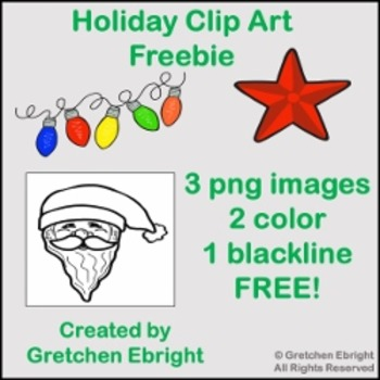 Holiday Clip Art Freebie!
