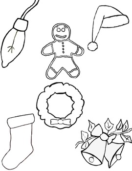 Holiday Clip Art and Coloring Activity Collection [ Craig's Clip Art Creations ]