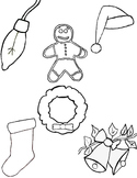 Holiday Clip Art and Coloring Activity Collection [ Craig'