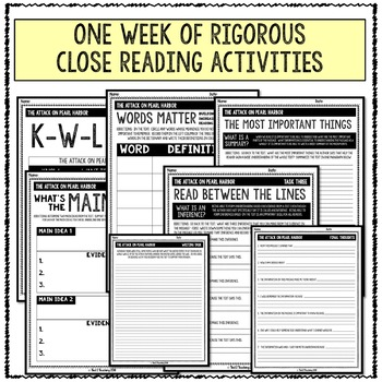 Holiday Close Reading Bundle