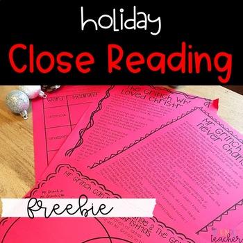Grinch Close Reads