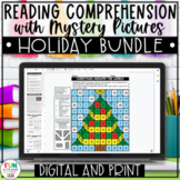 Close Reading Comprehension Activities Holiday Bundle | Christmas Activities