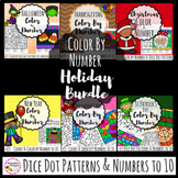Holiday Color By Number- Growing Bundle