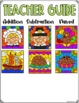 Holiday Color by Number Pictures Double Digit Addition & Subtraction BUNDLE
