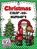 Holiday Color by Numbers - Teen Numbers