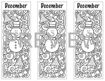 Holiday Coloring BUNDLE!