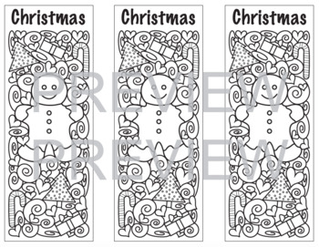 Holiday Coloring Bookmarks!