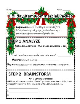 Holiday Commercial Packet
