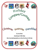 Holiday Compare/Contrast FREEBIE