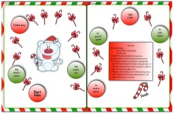 Christmas Holiday Comparing Decimals Task Cards