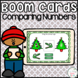 Comparing Numbers Seesaw and Boom Cards