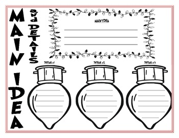 Holiday Comprehension Strategy Packet