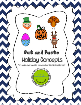 Holiday Concepts Cut and Paste Activity