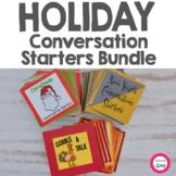 Holiday Conversation Starters Bundle- Thanksgiving, Christ