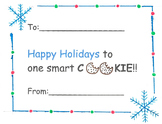 Holiday Cookie Card