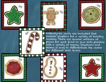 Christmas Holiday Money Math Center