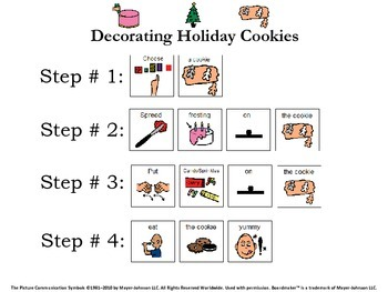 Holiday Cookie Visual Recipe