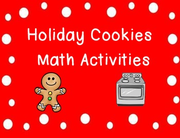 Holiday Cookies Math Activities Pack