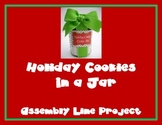 Holiday Cookies Project for Math Science and Social Studies