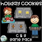 Soft and Hard c and g sounds - Holiday Cookie Game Pack