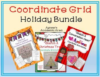 Coordinate Grid Holiday Bundle