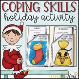 Holiday Coping Skills Activity: Coping Skills Craft for Christmas