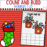 Holiday Count, Build and Clip Cards