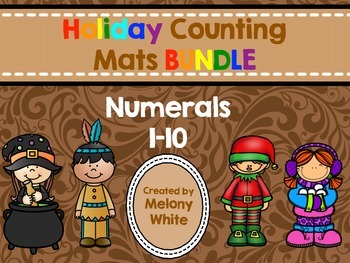 Holiday Counting Mats BUNDLE