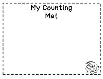 Holiday Counting Mats & Number Mats