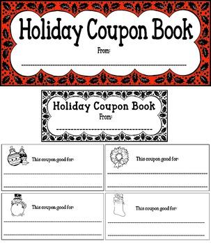 Holiday Coupon Book