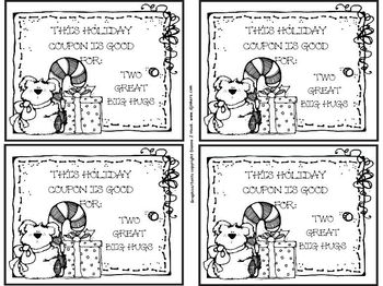 Winter Holiday Coupon Book: A Fun and Easy Gift