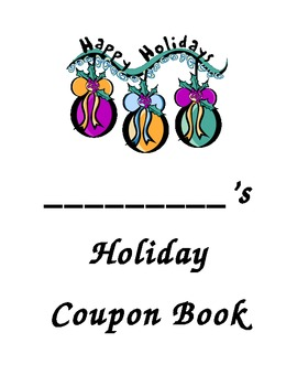 Holiday Coupon Book for Students