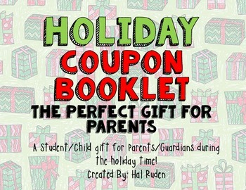Holiday Coupon Booklet