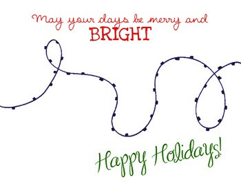 Holiday Craft: Christmas Lights