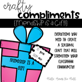 Holiday Craft {Crafty Compliments December} Christmas Craft