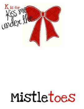 Holiday Craft: Mistletoes