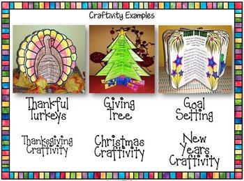 Holiday Craftivity Bundle