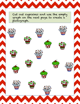 Holiday Cupcake Pictographing