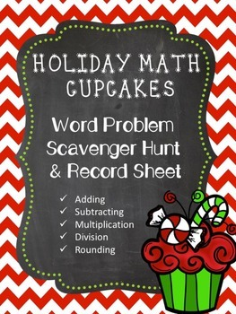 Holiday Math Word Problems
