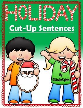 Holiday Cut-Up Sentences